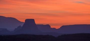 Sunrise near Page AZ