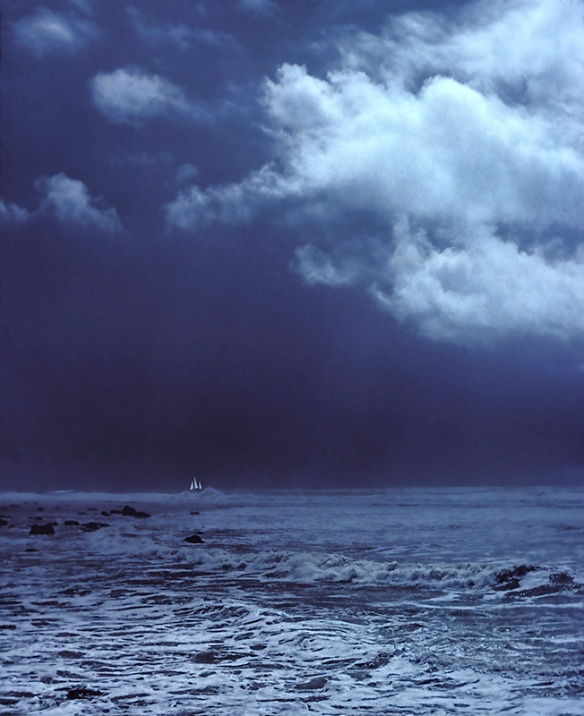 Storm at Sea,  photo by Stephen Hufman