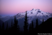 glacier peak sunrise