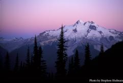 glacier peak sunrise