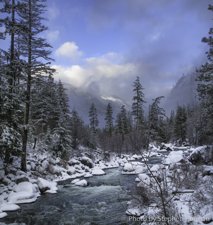 Winter Along Icicle Creek