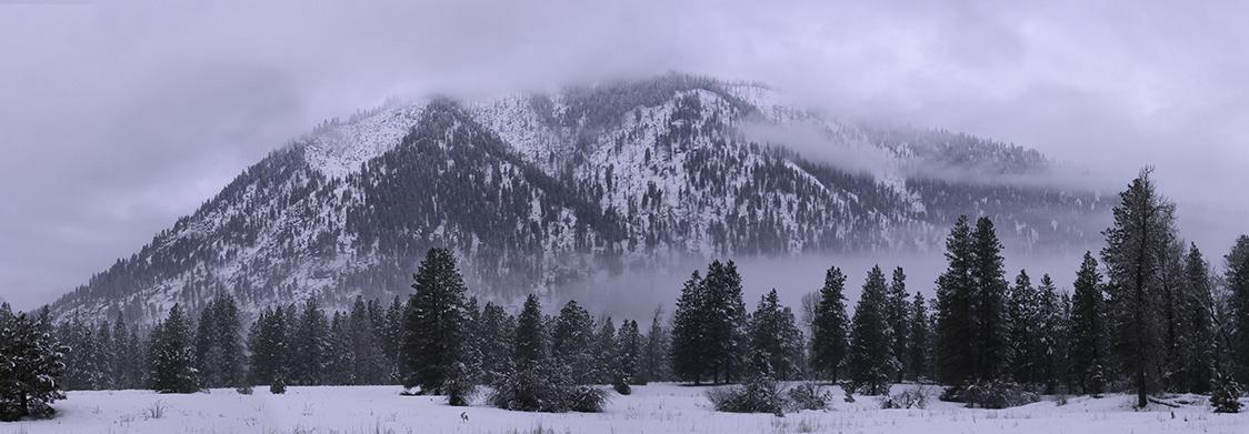 Icicle Ridge winter