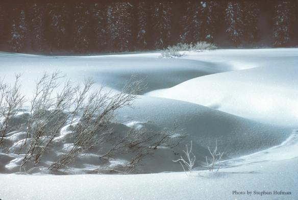 Snow drifts-360